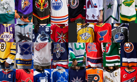 NHL Reverse Retro Jersey Reveal Rankings