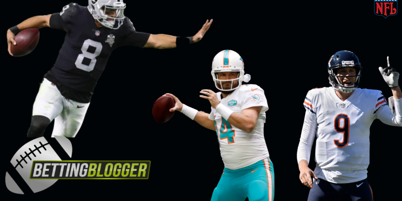 The Three Most Reliable Backup Quarterbacks in the NFL