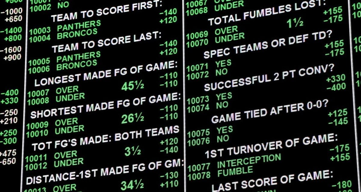 Have a Betting Plan Going In & Stick to It